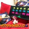 【100均手芸】かぎ針編み初心者 インベーダーゲーム風マットを作った~