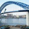 大阪市内 橋巡りライド (プチヒルクライム風味)