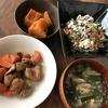 砂糖醤油&ひじきとお豆腐のサラダ