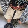 今日の服|カバーオールにショーツ、アウトドアにワークにトラッドにパンク…のお好み焼き風コーデ…?