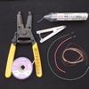 トランジスタ式ミニワッターの配線材料