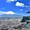 【新倉山浅間公園】長い階段の先に広がる、忠霊塔越しの贅沢な絶景