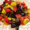 茄子が美味しい、夏野菜のサラダ〜日本の夏