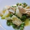 小蕪とグリーンピースとハーブ入りクリチーのサラダ