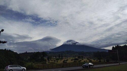 日顕上人様の本葬の日に、諸天の顕した富士山そっくりの雲の意味とは?