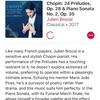 ショパン前奏曲集作品28(43)最近のレコーディング(2)Julien Brocal