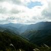 雲海景勝地である奈良県野追川村へ。三菱自動車が提供している全国の絶景確立予想サービスとか