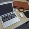 やっと出会えたMacBook Airにピッタリの極薄バッグ!軽くてオシャレな牛革ビジネスバッグ「TRION A123R」(トライオン)