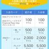 ANAカード初回入会時限定キャンペーン!簡単:マイ友プログラム紹介で最大15500マイルゲット!