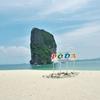 「ポタ島(Koh Poda)」~憧れの楽園といわれCMのロケ地にもなった、絶景ビーチの島!!