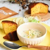 焼きカブとコーンの豆乳味噌スープ*ルオーブンのケークサレ
