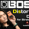 "BOSS Distortion ""DS-1"" Sound Check Video for Stratocaster"