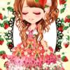 ゲーム「恋してキャバ嬢」のアバター♪苺のお姫さま編