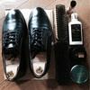 革靴の4ステップ靴磨き!