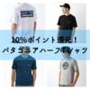 【お得】パタゴニアハーフTシャツをお得に購入する方法!サンデーマウンテンで10%ポイント還元で購入可能⭐