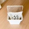 山崎実業 towerシリーズの「袋ごと密閉 米びつ 5kg」が一人暮らしのキッチンにぴったりです