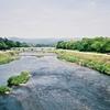 京都の忘れられないもの・鴨川 (Rollei35S)