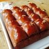 板チョコちぎりパン