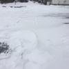 いろいろ雑務をこなす・能代の降雪状況は?