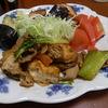 幸運な病のレシピ( 582 )朝;魚焼いて、三角揚げと牛肉の炒め、味噌汁