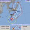 台風10号は東北上陸の可能性が。茨城から東北にかけて地震活発