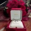 【ウェディング】婚約しました♡【cartier婚約指輪】