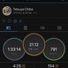 2020/11/21 ハーフマラソン距離走 気持ちよく走れました