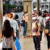 日本からタイに来る人、タイの空港で(コロナウイルス)チェックが強化されています。