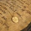 K18金ゴールドネックレス/コイン forメンズが再入荷しました。