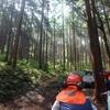 市有林で棚の解体とヒノキの間伐 & くまねこジャンプ & クモランなど