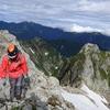 〈個人山行〉 劔岳 源次郎尾根と立山三山