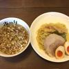 麺あがり(宜野湾市)つけ麺 620円 +くんせい味玉 100円
