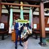 お宮参り&100日紀念撮影