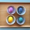食材で色付きゆで卵を作る。子供と一緒に化学実験!