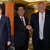 【トランプ大統領】安倍総理・ピコ太郎と3人並んでもなんとなく日本負けてない的になれると思う【身長】