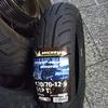 #バイク屋の日常 #ヤマハ #シグナスX #SE12J #リアタイヤ交換 #タイヤサイズ