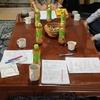 きょうは、アビダンマ基礎講座  勉強も茶話会も楽しい