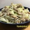 今夜のおかず!ニンニクたっぷり『モツ野菜炒め』を作ってみた!