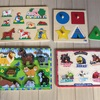 【室内遊びアップデート】②パズル:ペグパズルは卒業、2/3/4/5ピースのジグソーパズルも。