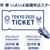 TOKYO2020、Japanオリンピックチケット値段決定!!2019年春抽選申込スタート