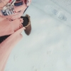 雪なのにヒール…💔(・Θ・。)