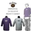 ポルタアンドゲート/パブリックホリデー=コラボ企画=7分袖プリントTシャツ