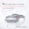 【春のブライダルフェア】希少な天然ピンクダイヤのエンゲージリング