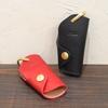 フェラーリF612の専用キーケースをヌメ革でオーダー製作。