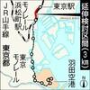 東京モノレールも東京駅にのりいれだ!