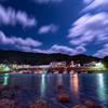 星景サルベージその97 青い港町の夜