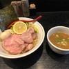 656. 特製濃厚つけめん@雨ニモマケズ(十条):ほん田グループの一角を担う超個性的なクリーミーすぎる濃厚鶏白湯つけ麺!