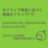 ネイティブ発音に近づく英語のフラップT⑰:grammatically, diplomatically, bureaucratically