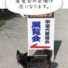甲斐犬春の展覧会