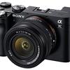 フルサイズ SONY α7C は、本当にコンパクトか?。カメラサイズ比較。